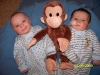 Max, Sam & the Monkey - April 2009