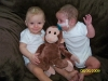 Max, Sam & the Monkey - August 2009