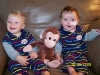 Max, Sam & the Monkey - October 2009