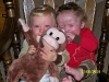 Max, Sam & the Monkey - November 2009